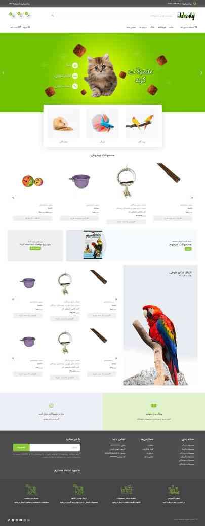 طراحی سایت فروشگاهی دکتر وودی